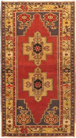 "Turkish Anatolian 4'.2"" x 7'.6"""