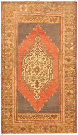 "Turkish Anatolian 3'.11"" x 6'.11"""